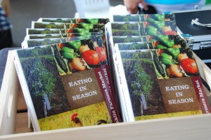 "Franklin Farmers Market Recipe Book ""Eating in Seasons"""