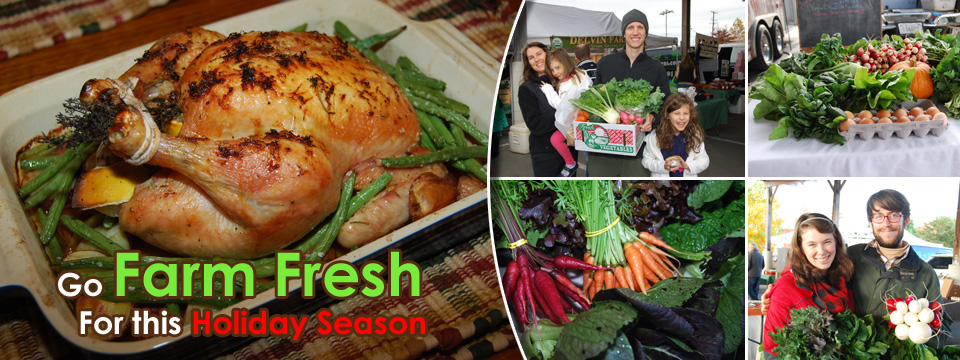 Go Farm Fresh for the Holiday's