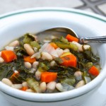 Italian White Bean and Kale Soup