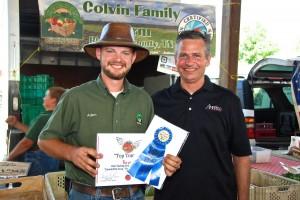 Colvin Family Farm 1st Place Hybrid Tomato