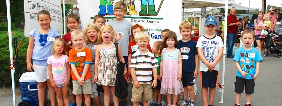 Children's Educational Garden – Farmers Market Visit