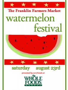 watermelon fest sign