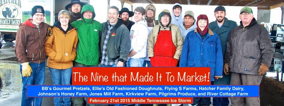 Nine Farmers Who Made it to Market