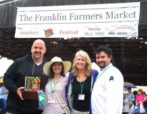 Strawberry Festival Judges