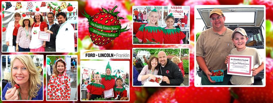 Franklin Strawberry Festival Winners & Judges