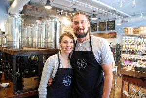 Ashlea and Matt Hogancamp of Herban Market