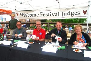 Local Celebrity Judges had the tough job of selecting a winner
