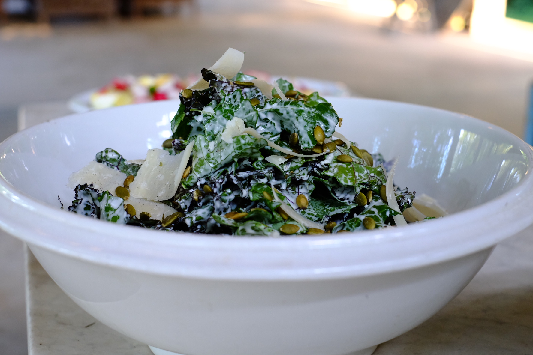 Organic Kale Salad with Buttermilk Dressing - Franklin Farmers Market