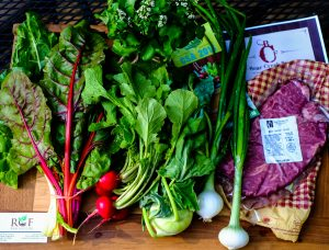 Fresh Ingredients from the Franklin Farmers Market