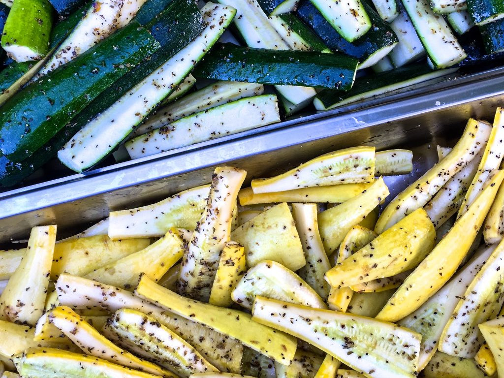 With peak season for local summer vegetables it's time to fire up the grill for some grilled vegetables with Infused Olive Oil and Balsamic