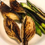 charred vegetables