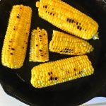 charred sweet corn