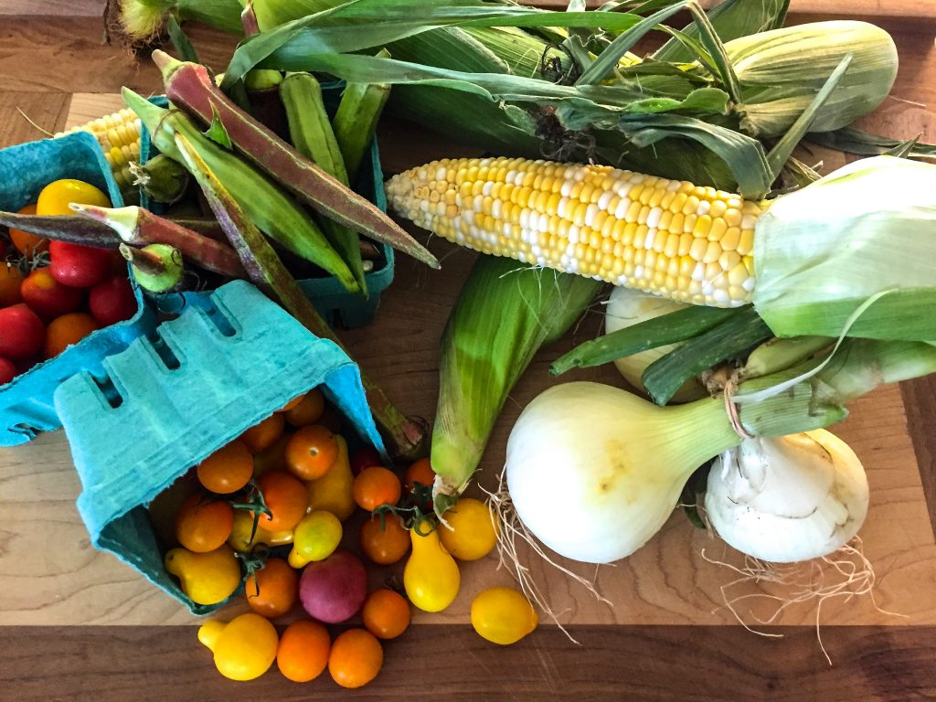 Seasonal cooking is not only healthy it's fun! A Bounty of Healthy Eating awaits you at the Franklin Farmers Market.