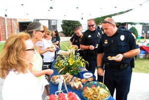 Hometown Hero Reception Appreciation for our Franklin Police
