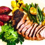 Tri Tip with Farmers Market Vegetables