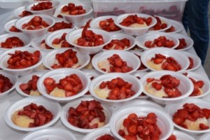 Record Number of Strawberry Shortcakes Sold