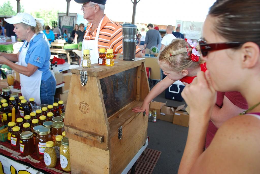 Johnson S Honey Farm Franklin Farmers Market