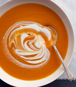 Butternut Squash & Carrot Soup