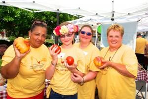 Tomato Festival Volunteers
