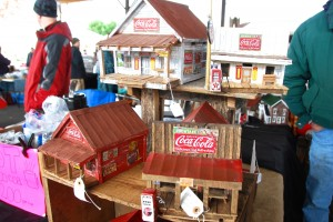 miniature historic buildings