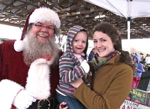 Santa at Franklin Farmers Market