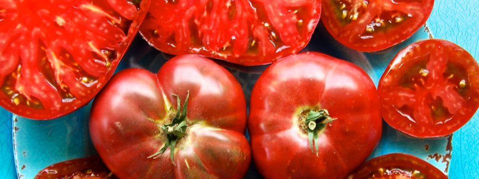 Cherokee Purple Heirloom Tomatoes