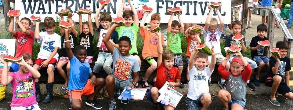 Franklin Watermelon Festival Kids 2018