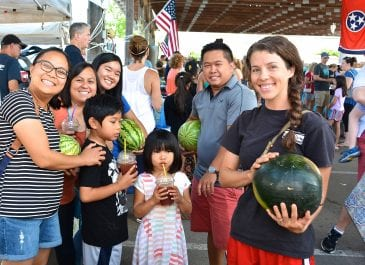 Tomato Festival Market Day Photos